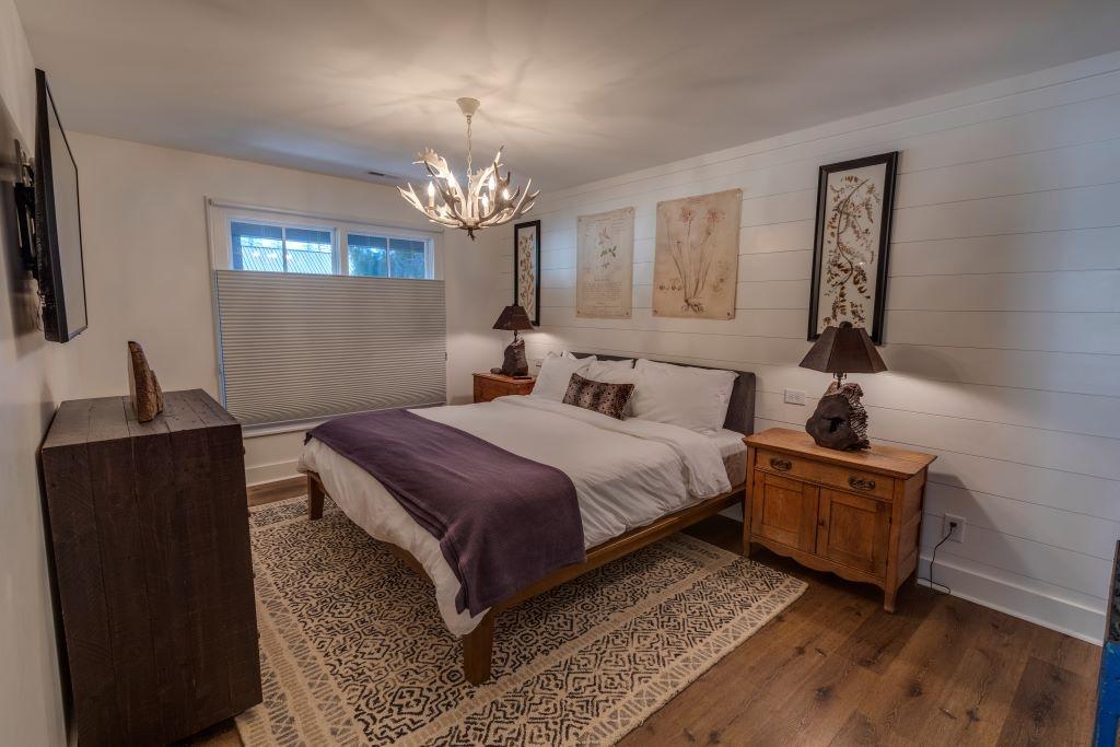 LoftsWB bed behind kitchen